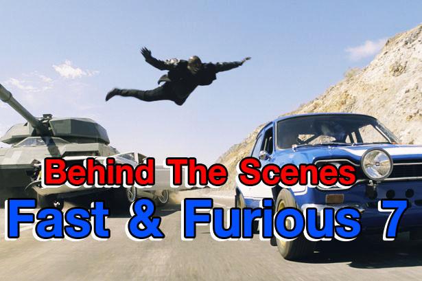 อลังการงานถ่ายภาพยนตร์ Fast & Furious 7