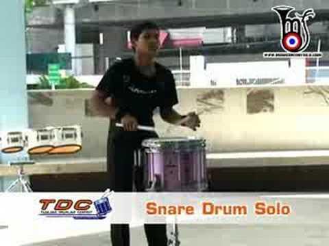 ใช่เลยสำหรับมือ Snare Solo คนนี้