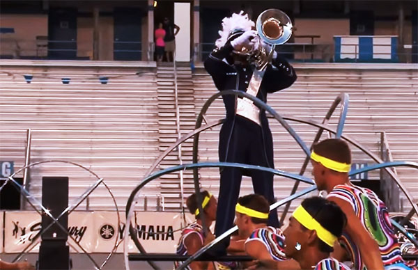 2015 Bluecoats final runthough: battery cam