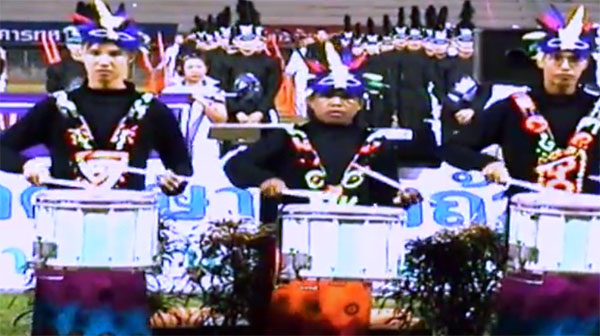 ประดุจดังแหล่งกำเนิดวงการ Drumline วงแรกของเมืองไทย