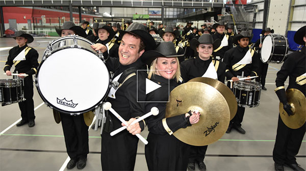 Marching Band Variety By RICK MERCER REPORT