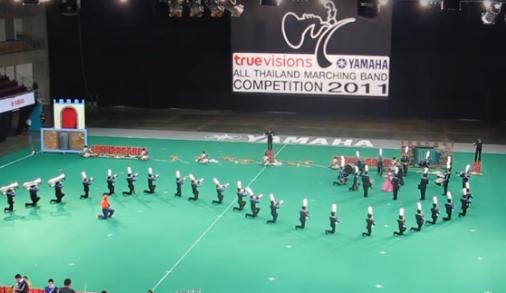 วรรัตน์ศึกษา Marching Band(Final Show 2011)