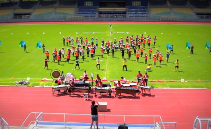 North Eastern Technology Drum & Bugle Corps 2010
